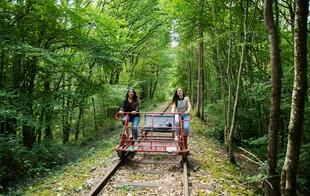 Vélo-Rail - Bagnoles-de-l'Orne