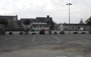 Stationnement Camping-Cars (ancienne gare) - Bagnoles-de-l'Orne