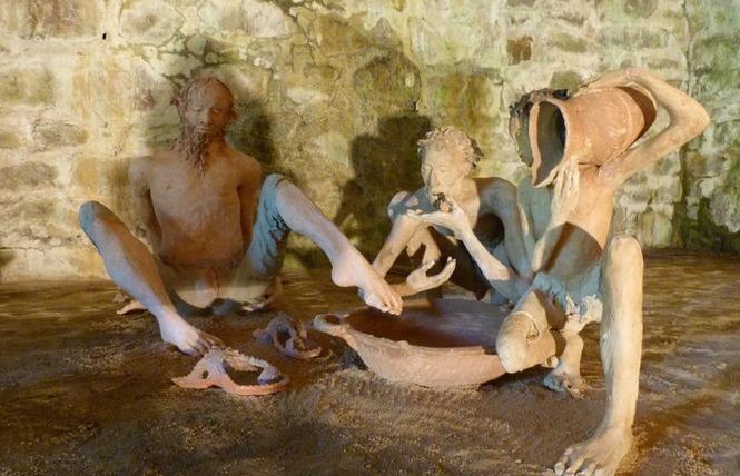 Visite guidée des différents site de l'exposition Fanny Ferré 2 - Bagnoles-de-l'Orne Normandie