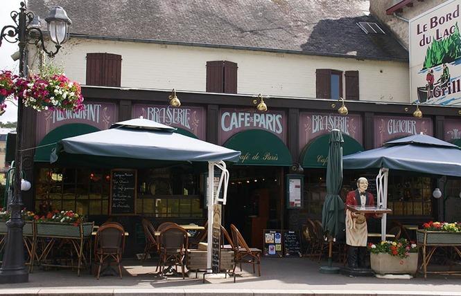 Le Café de Paris 1 - Bagnoles-de-l'Orne Normandie